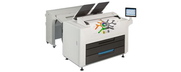 KIP 860 with folder