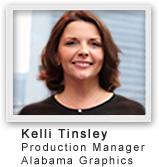 Job Center simplifies work orders for Kelli Tinsley of Alabama Graphics